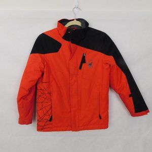 Spyder Red Winter Jacket Coat 12 Youth